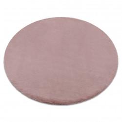 Szőnyeg BUNNY kör rózsaszín