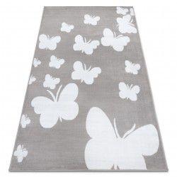 Bcf szőnyeg ANNA Butterfly 2650 Pillangók szürke