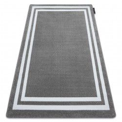 HAMPTON szőnyeg keret szürke
