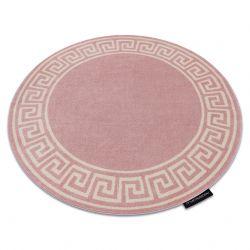 HAMPTON szőnyeg Grecos kör rózsaszín