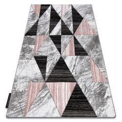 ALTER szőnyeg Nano háromszögek rózsaszín