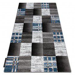 ALTER szőnyeg Siena négyzetek lugas kék