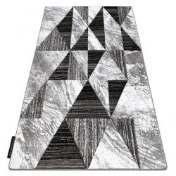 ALTER szőnyeg Nano háromszögek szürke