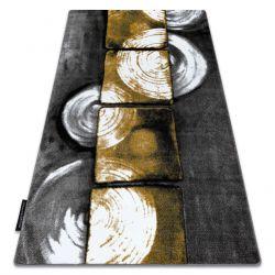 INTERO PHONO 3D szőnyeg Négyzetek arany