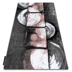 INTERO PHONO szőnyeg 3D Négyzetek rózsaszín