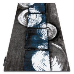INTERO PHONO 3D szőnyeg Négyzetek kék