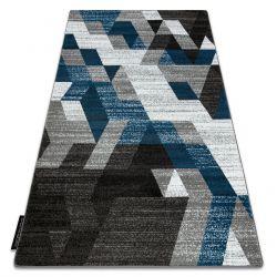 INTERO TECHNIC 3D szőnyeg gyémánt háromszögek kék