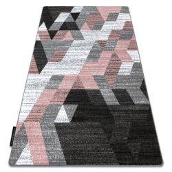 INTERO TECHNIC 3D szőnyeg gyémánt háromszögek rózsaszín