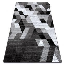 INTERO TECHNIC 3D szőnyeg gyémánt háromszögek szürke