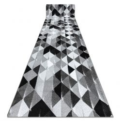 INTERO PLATIN futószőnyeg háromszögek szürke