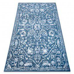 szőnyeg RETRO HE184 kék / krém Vintage