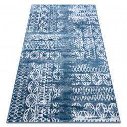 szőnyeg RETRO HE191 kék / krém Vintage