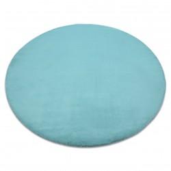 Szőnyeg BUNNY kör aqua kék