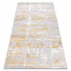 Akril DIZAYN szőnyeg 122 sárga / világos szürke