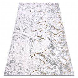 Akril DIZAYN szőnyeg 123 világos szürke / zöld