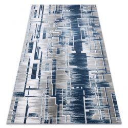 Akril USKUP Geometriai szőnyeg 9481 kék