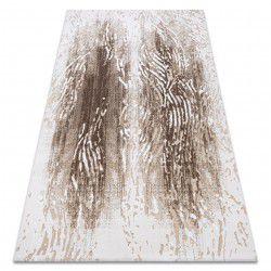 Akril USKUP Faipari szőnyeg 9482 krém / barna