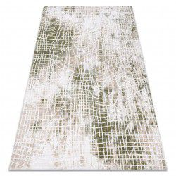 Akril USKUP szőnyeg 9483 elefántcsont / zöld