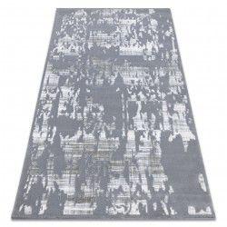 Akril USKUP szőnyeg Konkrét 9486 szürke