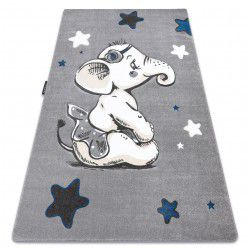 PETIT szőnyeg ELEPHANT ELEFÁNT CSILLAG szürke