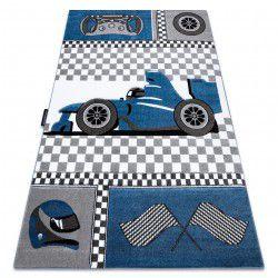 PETIT szőnyeg RACE FORMULA 1 AUTÓ kék