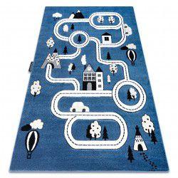 PETIT szőnyeg TOWN VÁROS UTCA kék