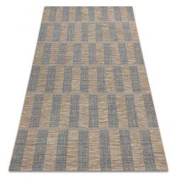 Fonott sizal Fort szőnyeg 36211382 kék / bézs