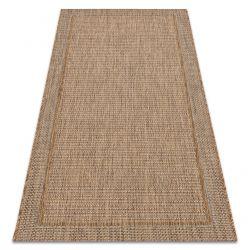 Fonott sizal Denver szőnyeg 30714070 barna