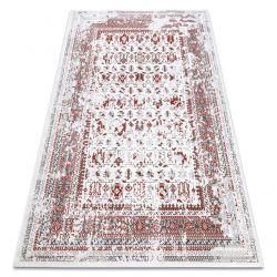 Vintage szőnyeg 22212061 krém / piros