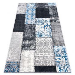 Vintage szőnyeg 22218053 szürke / kék