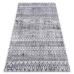 SIERRA szőnyeg Structural G6042 lapos szövött bézs / krém - geometriai, etnikai