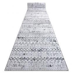 SIERRA futó szőnyeg Structural G6042 lapos szövött bézs / krém - geometriai, etnikai