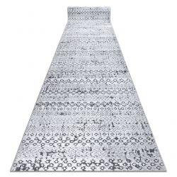 SIERRA futó szőnyeg Structural G6042 lapos szövött szürke - geometriai, etnikai