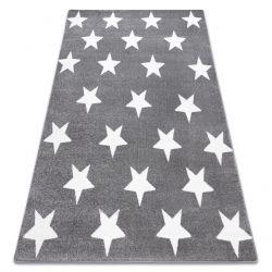 Sketch szőnyeg - FA68 szürke / fehér - Csillagok