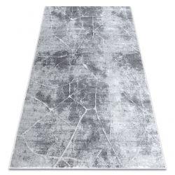 Modern MEFE szőnyeg 2783 Üveggolyó - Structural két szintű gyapjú szürke