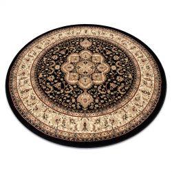 Royal szőnyeg kör adr 521 fekete