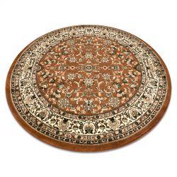 Royal szőnyeg kör adr 1745 barna