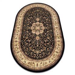 Royal szőnyeg ovális adr 521 fekete