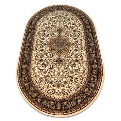 Royal szőnyeg ovális adr 521 karamella