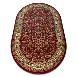 Royal szőnyeg ovális adr 1745 bordó