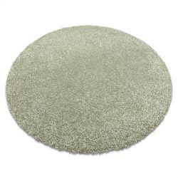Modern, mosható szőnyeg ILDO 71181044 kör olajzöld