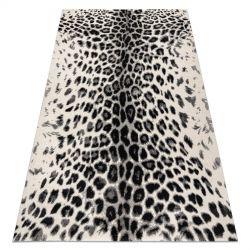 GNAB szőnyeg 60638363 Leopárd minta fehér / szürke / fekete