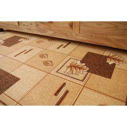 Polska szőnyegpadló szőnyeg 44 barna
