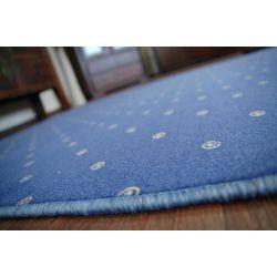 Chic szőnyegpadló szőnyeg 178 kék