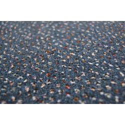 Velour szőnyegpadló szőnyeg TECHNO CSILLAG 390 kék
