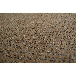 Velour szőnyegpadló szőnyeg TECHNO CSILLAG 830 barna