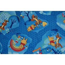Micimackó erdei szőnyegpadló szőnyeg kék