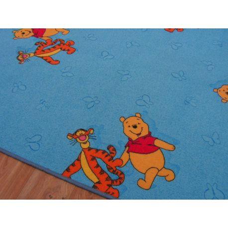 szőnyegpadló szőnyeg MICIMACKÓ kék