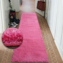 Shaggy futó szőnyeg 5cm rózsaszín