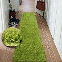 Shaggy futó szőnyeg 5cm zöld